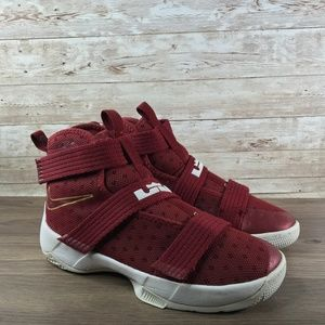 Nike Lebron Soldier 10 Youth 2 University Red